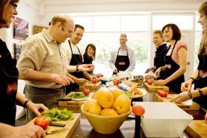 teambuilding til kokkekursus